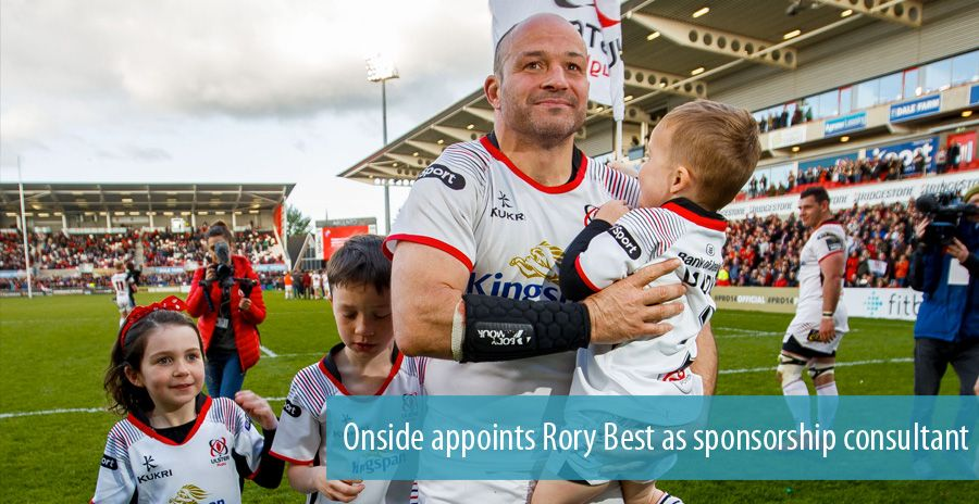 Onside appoints Rory Best as sponsorship consultant