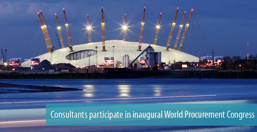 Consultants participate in inaugural World Procurement Congress