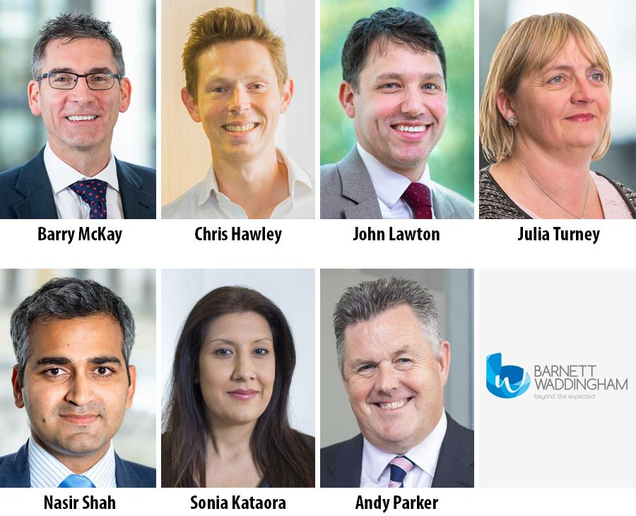Barnett Waddingham appoints seven Partners across the UK