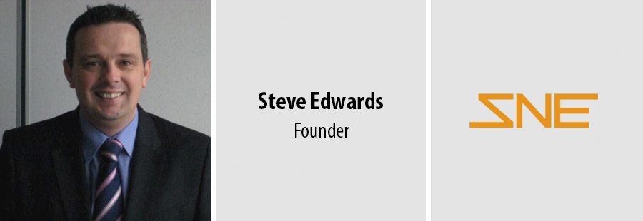 Steve Edwards - founder of SNE Business Solutions
