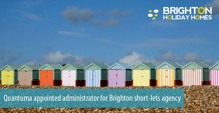 Quantuma appointed administrator for Brighton short-lets agency