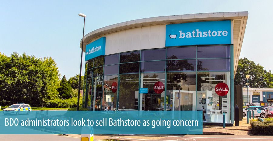BDO administrators look to sell Bathstore as going concern