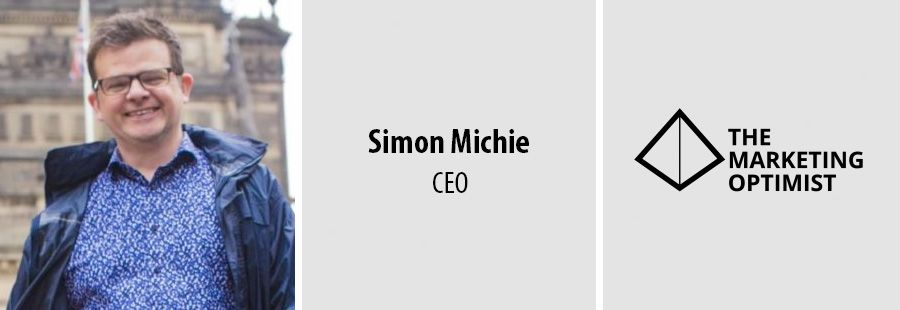 SImon Michie, CEO at The Marketing Optimist