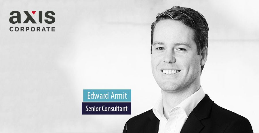 Edward Armit joins Axis Corporate in London as Senior Consultant