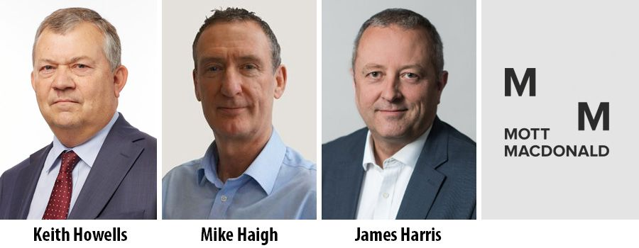 Keith Howells, Mike Haigh, James Harris - Mott MacDonald