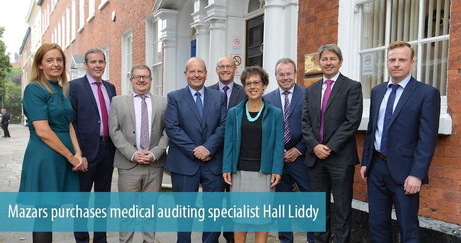 Mazars purchases medical auditing specialist Hall Liddy