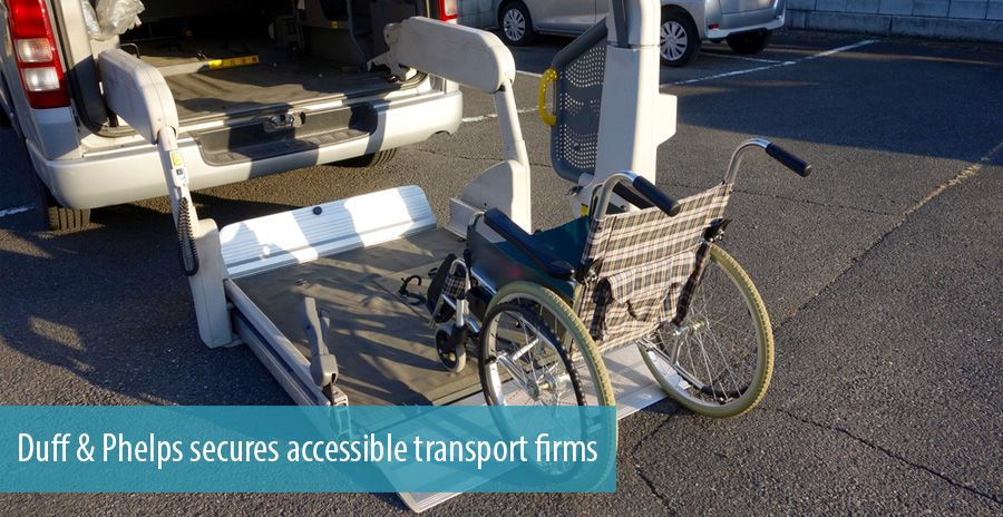 Duff & Phelps secures accessible transport firms