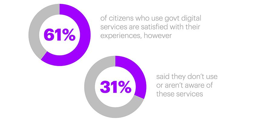 Just one in five UK citizens use government digital services