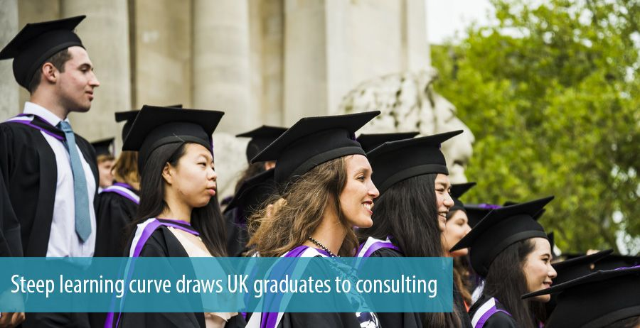 Steep learning curve draws UK graduates to consulting