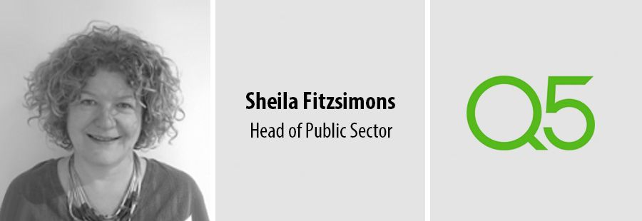 Q5 appoints Sheila Fitzsimons as Head of Public Sector practice