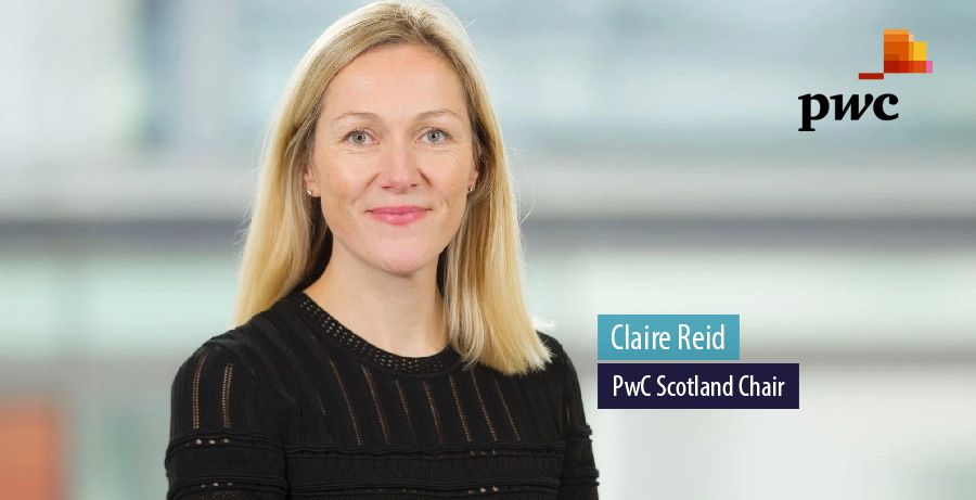 Claire Reid named PwC Scotland's first female leader