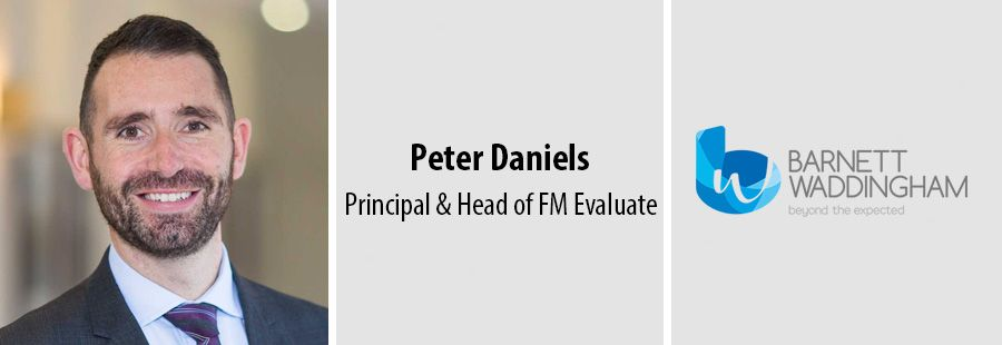 Peter Daniels, Principal and Head of FM Evaluate