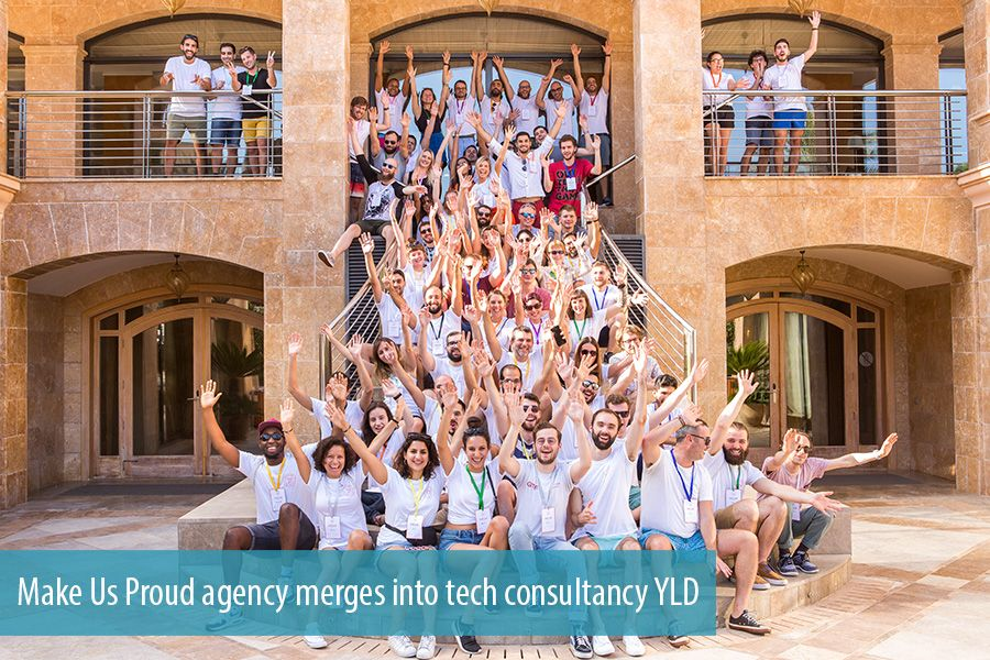 Make Us Proud agency merges into tech consultancy YLD