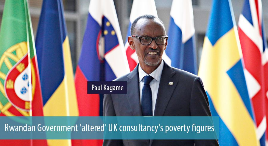 Rwandan Government altered UK consultancys poverty figures