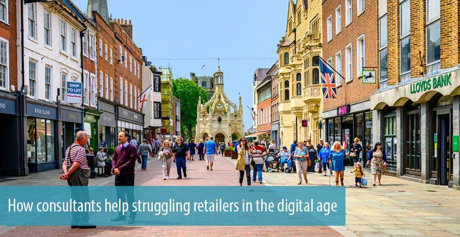 How consultants help struggling retailers in the digital age