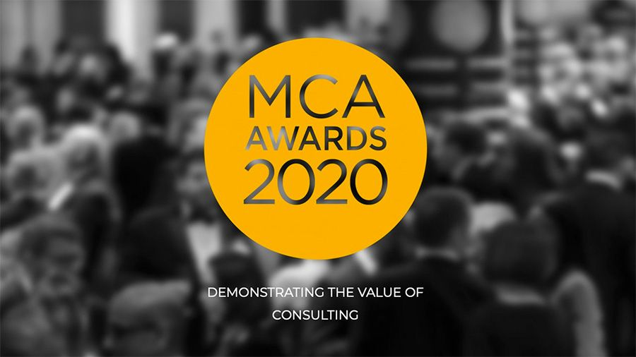 MCA Awards 2020 - Demonstrating the value of consulting