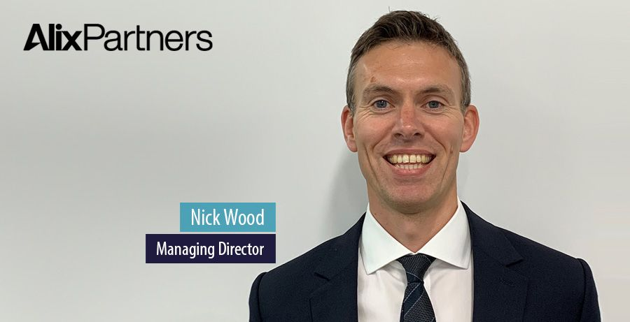 Nick Wood joins AlixPartners as Managing Director