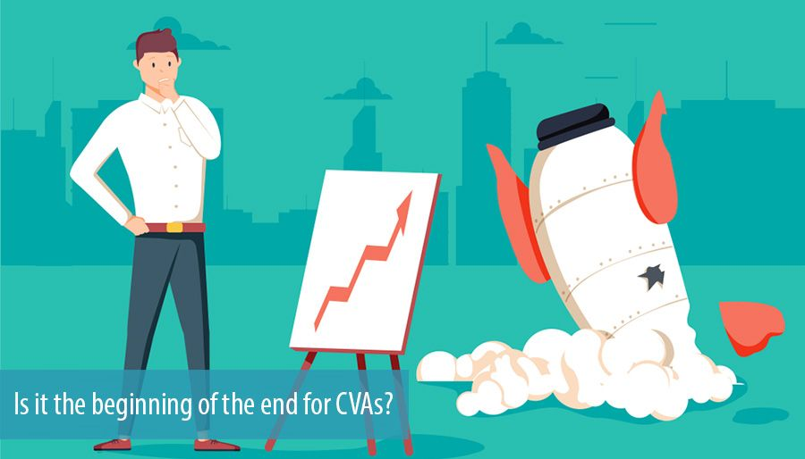 Is it the beginning of the end for CVAs?