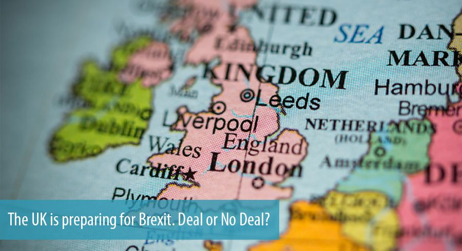 The UK is preparing for Brexit. Deal or No Deal?