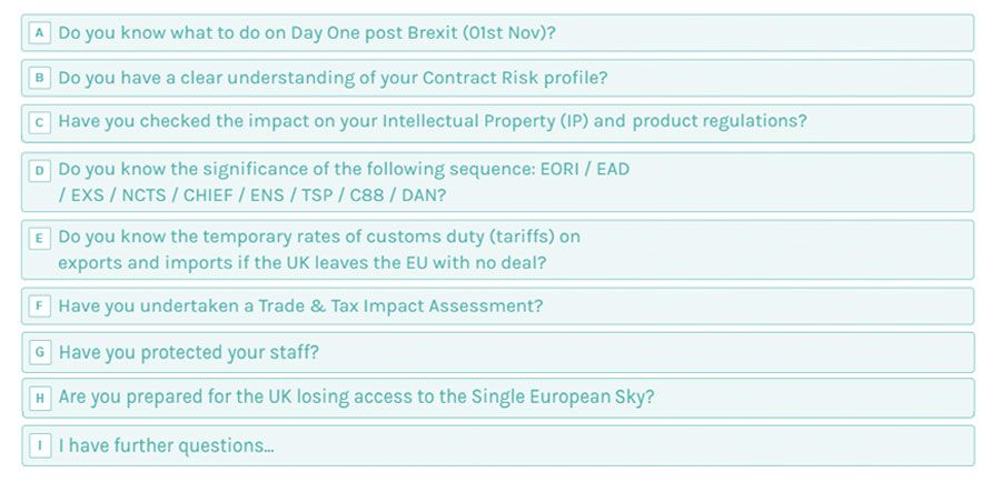 Interactive Brexit readiness guide