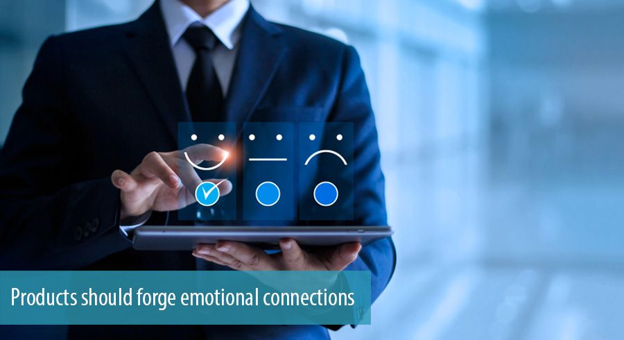 Product with emotional connections with customer