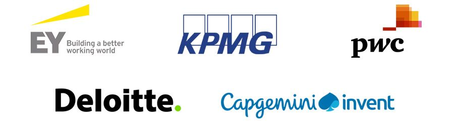 EY, KPMG, PwC, Deloitte and Capgemini Invent