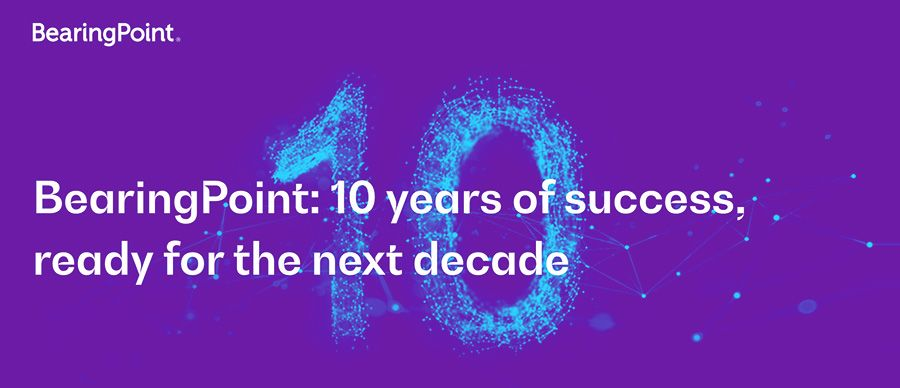 BearingPoint launches new structure as firm turns 10