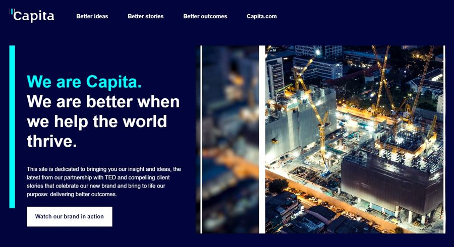 Capita rebrands as purpose-led living wage employer
