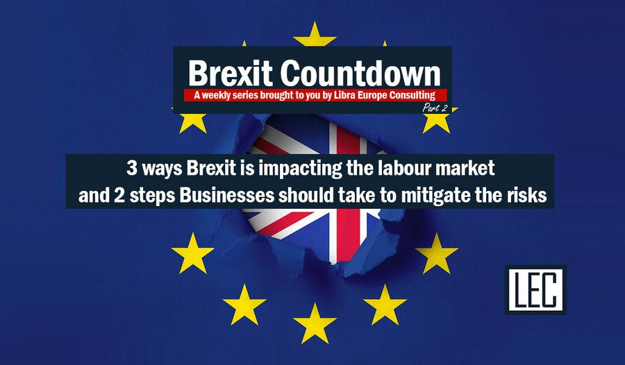 Three Brexit trends to hit the UK labour market