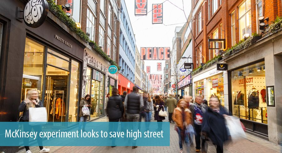 McKinsey experiment looks to save high street