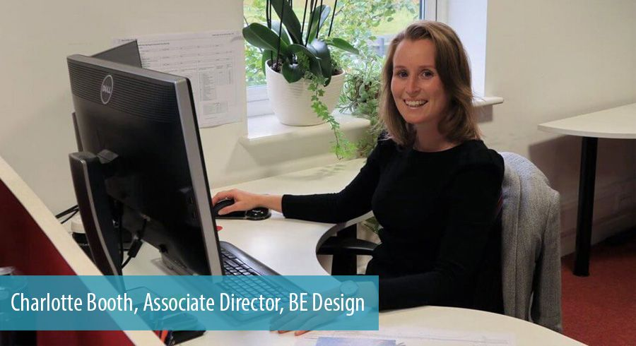 Charlotte Booth, Associate Director, BE Design
