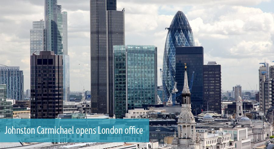 Johnston Carmichael opens London office