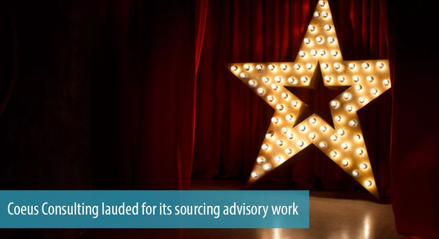 Coeus Consulting lauded for its sourcing advisory work