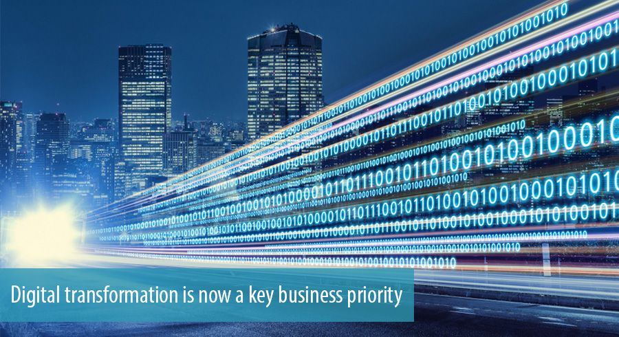 Digital transformation is now a key business priority