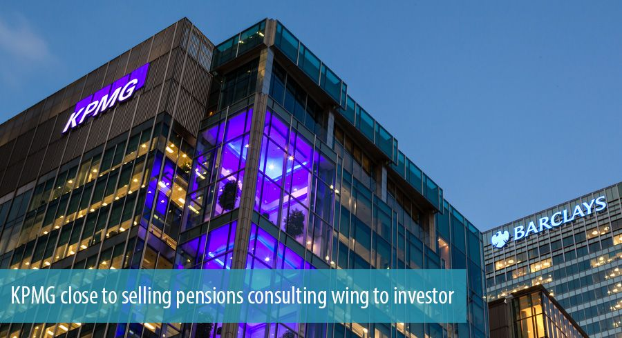 KPMG close to selling pensions consulting wing to investor