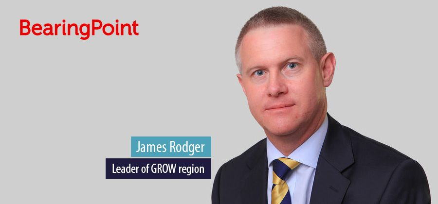 James Rodger, Leader of GROW region, BearingPoint