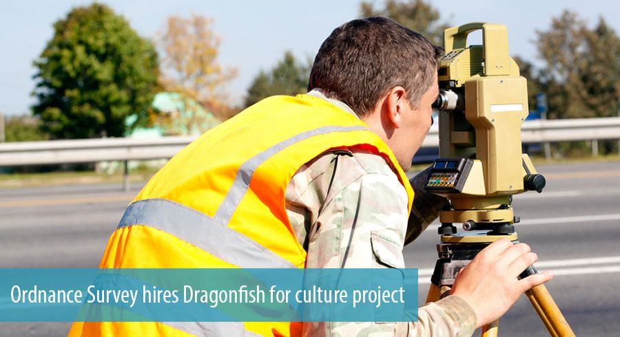 Ordnance Survey hires Dragonfish for culture project
