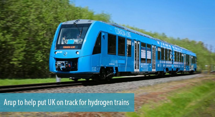 Arup to help put UK on track for hydrogen trains
