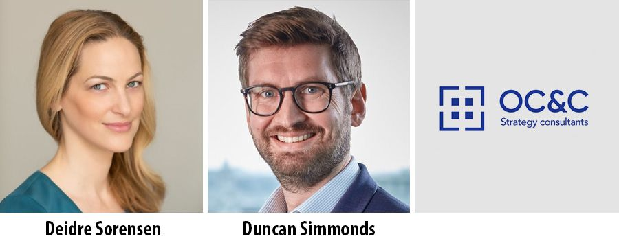 Deidre Sorensen and Duncan Simmonds - OC&C Strategy Consultants