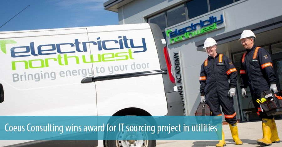 Coeus Consulting wins award for IT sourcing project in utilities