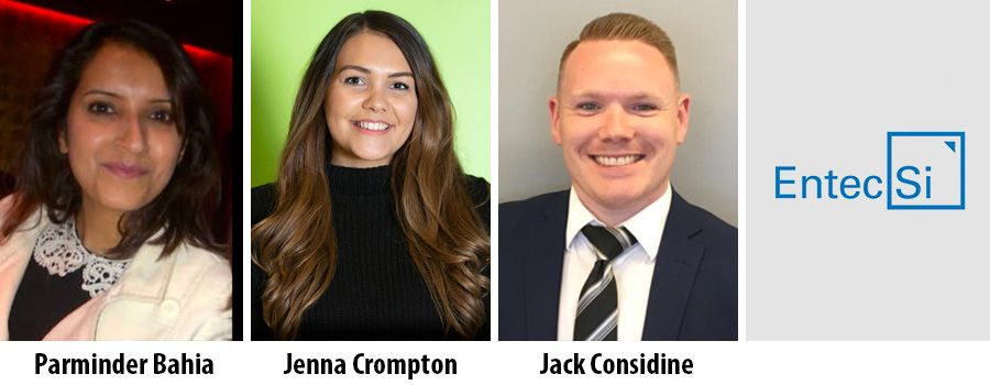 Birmingham consultancy Entec Si hires three professionals
