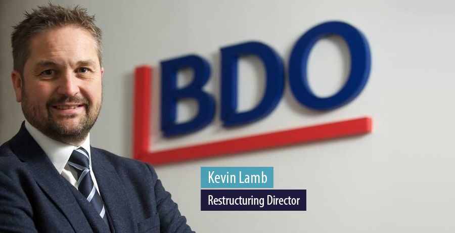 Kevin Lamb, Restructuring Director at BDO