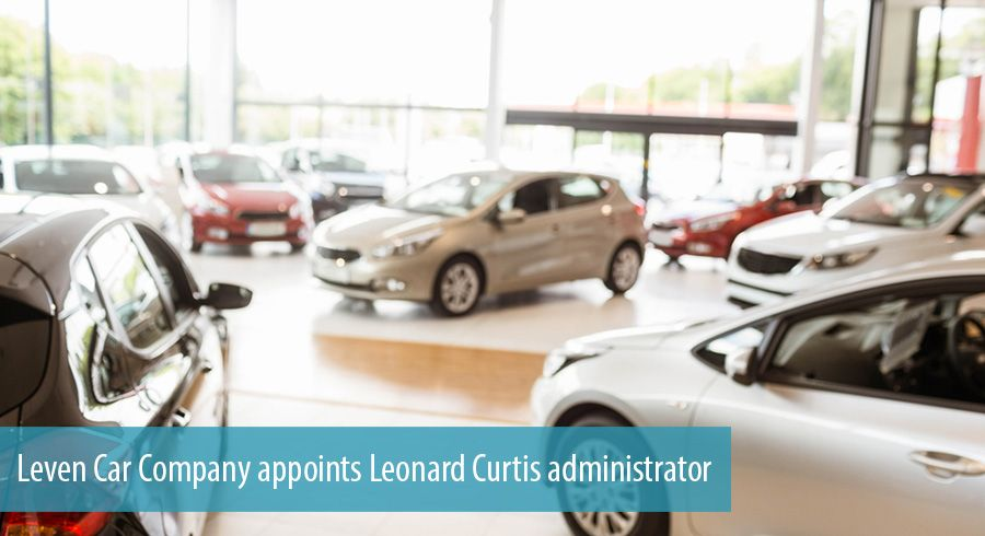 Leven Car Company appoints Leonard Curtis administrator
