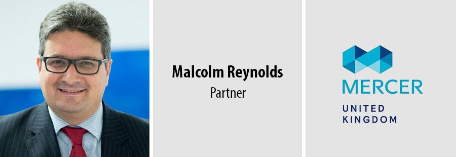 Malcolm Reynolds leads Mercer's UK pension business