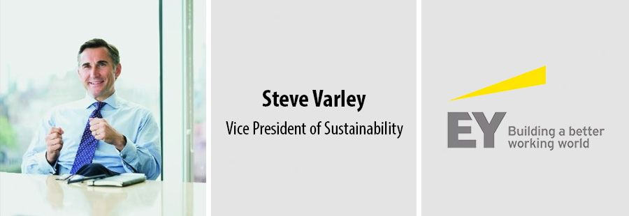 Steve Varley becomes first EY Vice President of Sustainability