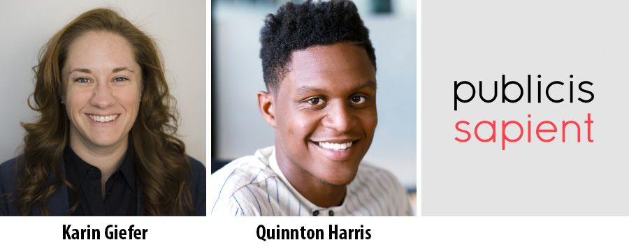 Karin Giefer and Quinnton Harris join Publicis Sapient