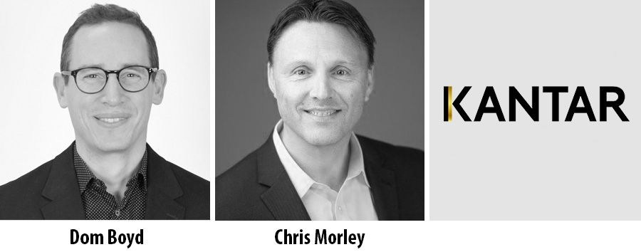 Chris Morley and Dom Boyd join Kantar as division leaders