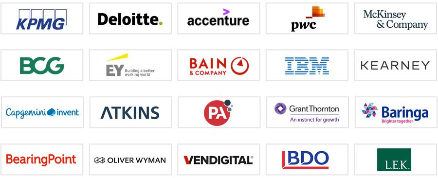 The top consulting firms in the UK (top 20)
