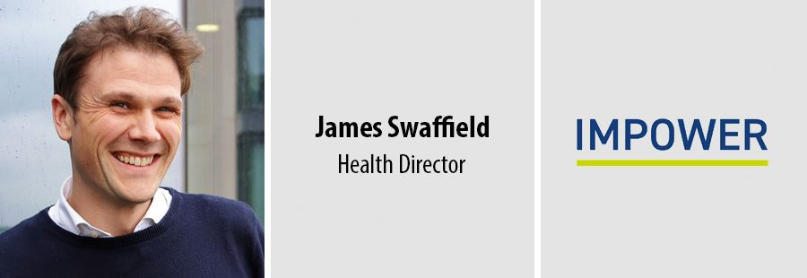 James Swaffield, Health Director at Impower