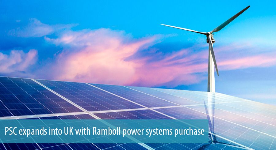 PSC expands into UK with Ramboll power systems purchase